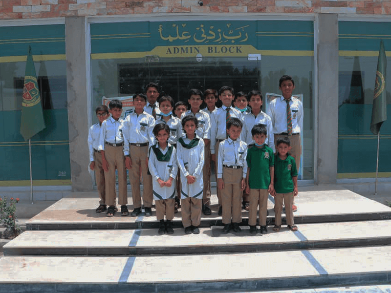 Welcomes the first batch of Students